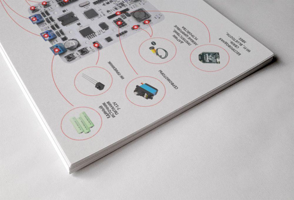 Дизайн-верстка изображения для листовки - дизайнер Taio