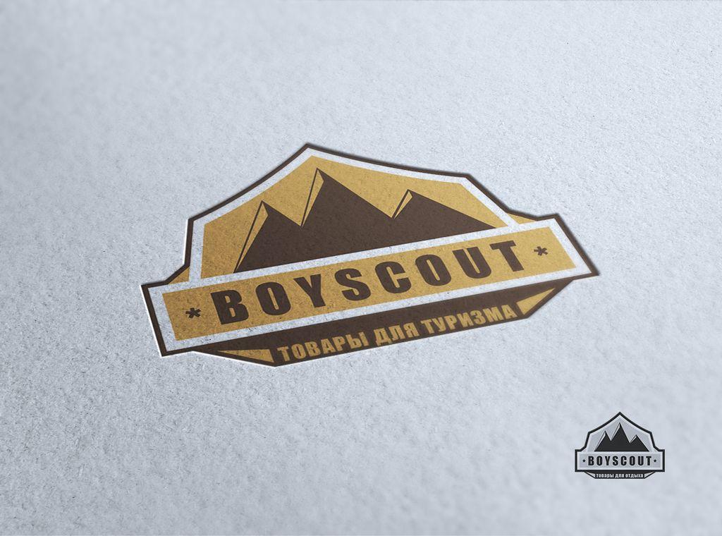 Логотип для сайта интернет-магазина BOY SCOUT - дизайнер RealityOne