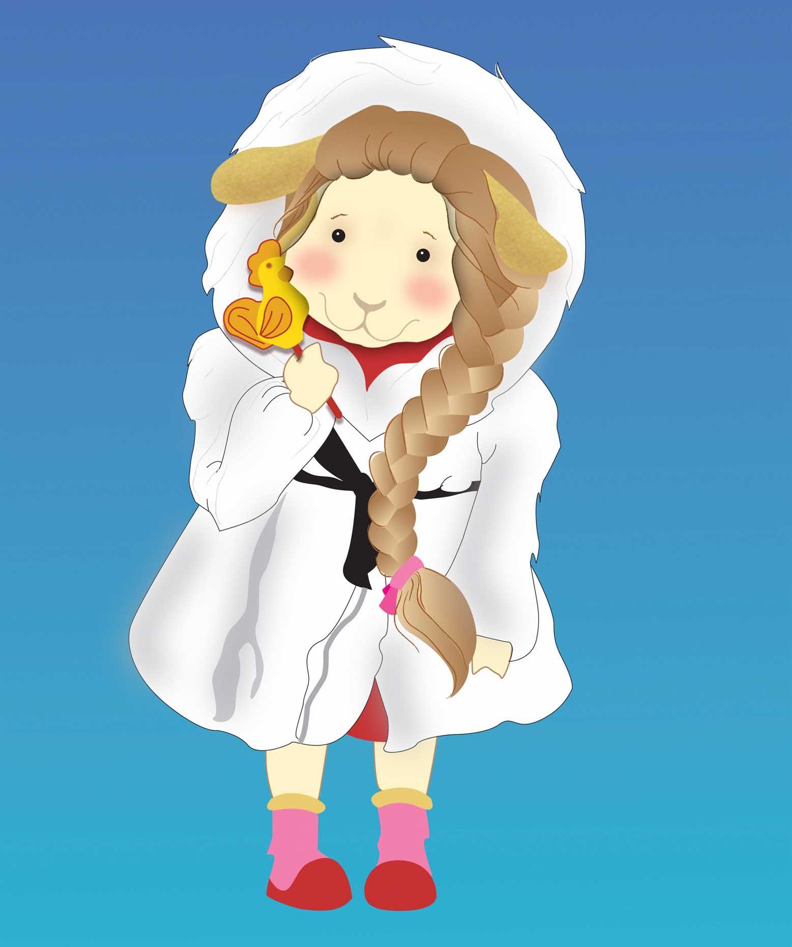 Иллюстрация персонажа - дизайнер Ravenrowan