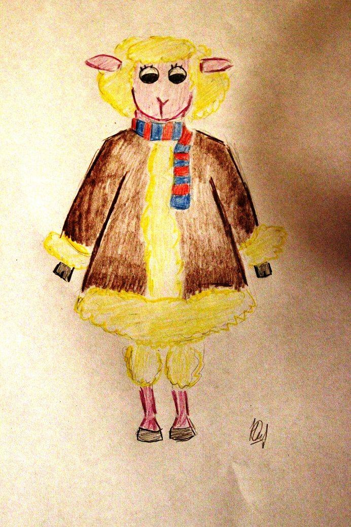 Иллюстрация персонажа - дизайнер Colombina32