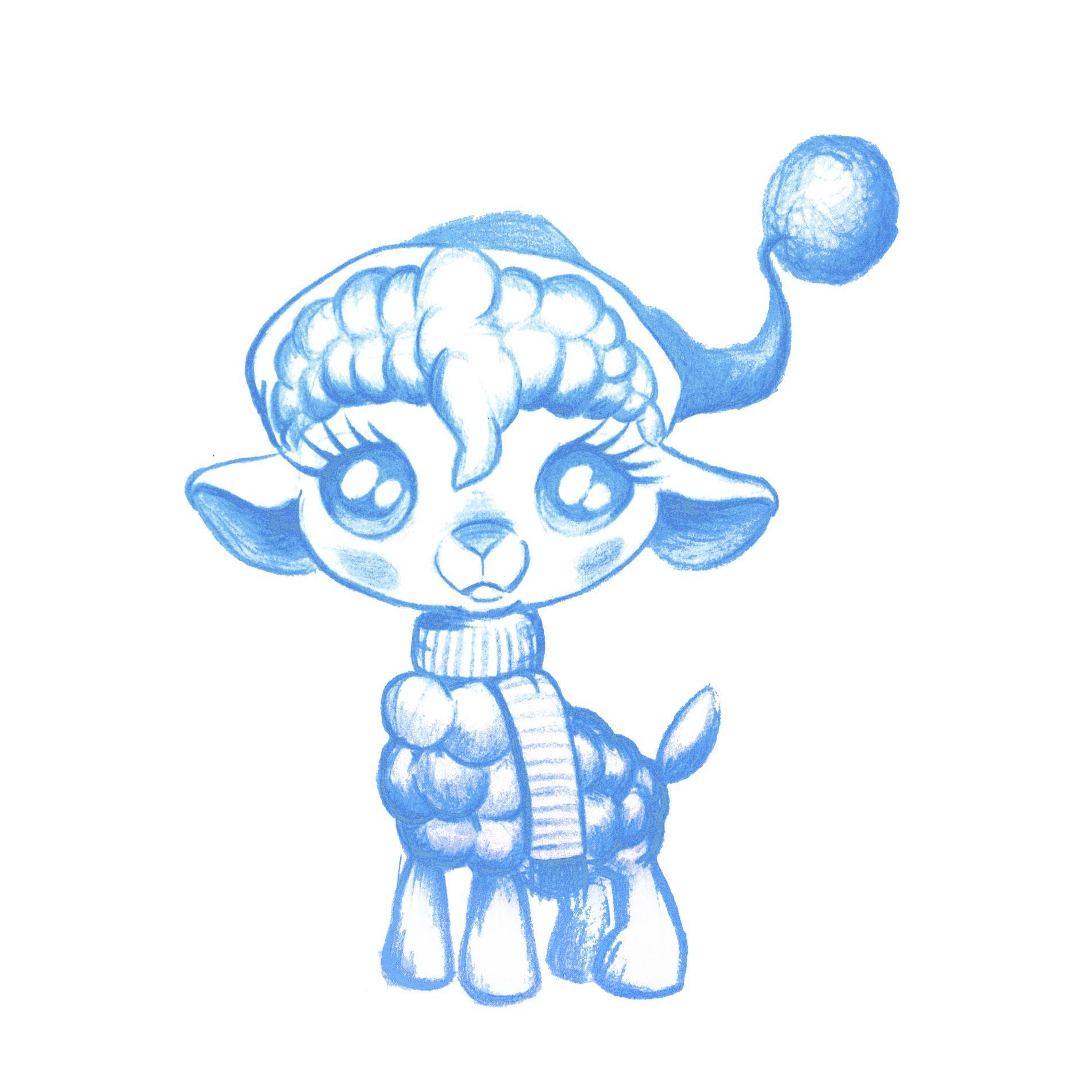 Иллюстрация персонажа - дизайнер scratcherz