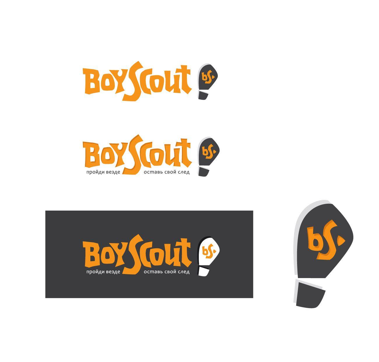 Логотип для сайта интернет-магазина BOY SCOUT - дизайнер gigavad