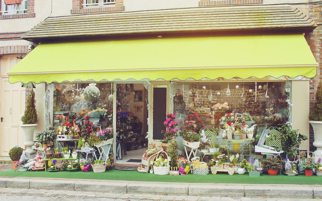 Логотип и фирм. стиль цветочного салона - дизайнер YuliyaYu