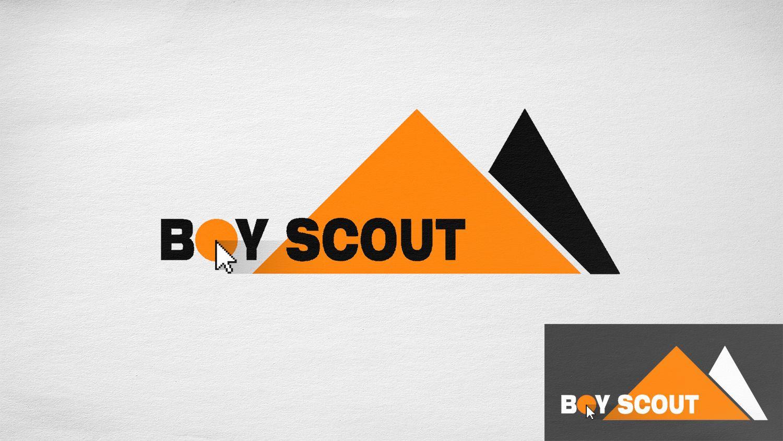 Логотип для сайта интернет-магазина BOY SCOUT - дизайнер GriN9ne