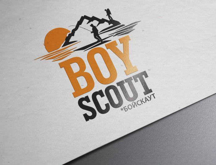 Логотип для сайта интернет-магазина BOY SCOUT - дизайнер lion_design