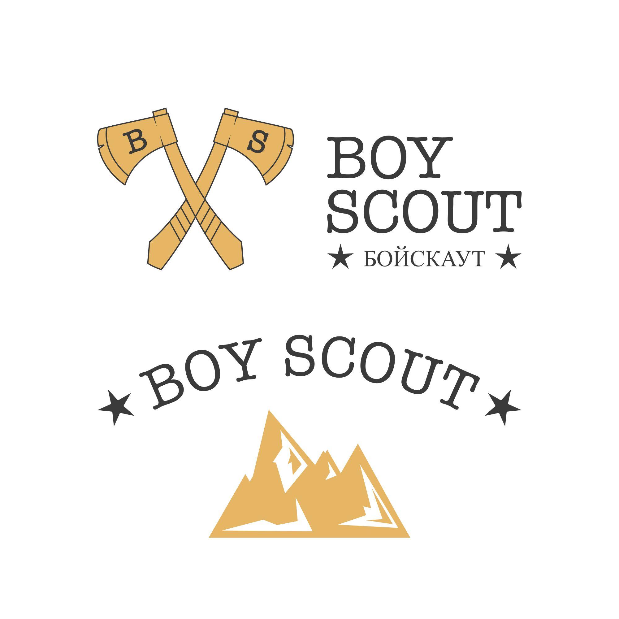 Логотип для сайта интернет-магазина BOY SCOUT - дизайнер ChiefHao