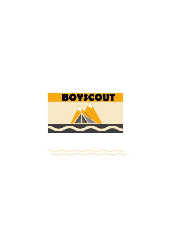 Логотип для сайта интернет-магазина BOY SCOUT - дизайнер GeorgeBand
