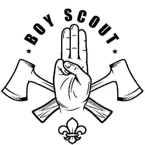 Логотип для сайта интернет-магазина BOY SCOUT - дизайнер aix23