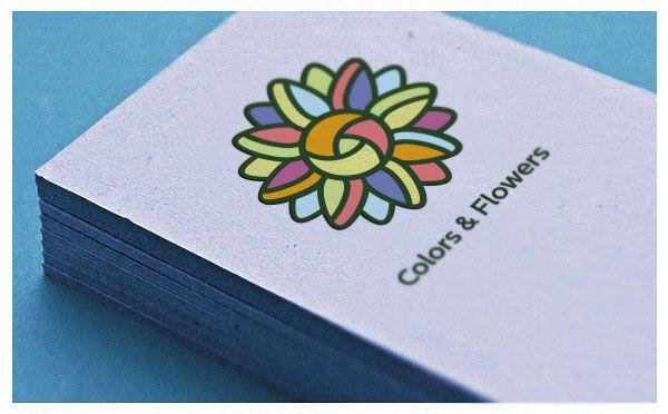 Colors & Flowers Логотип и фирменный стиль - дизайнер Nattan-ka