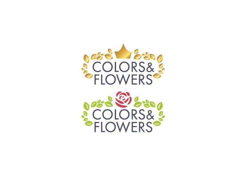 Colors & Flowers Логотип и фирменный стиль - дизайнер oksygen