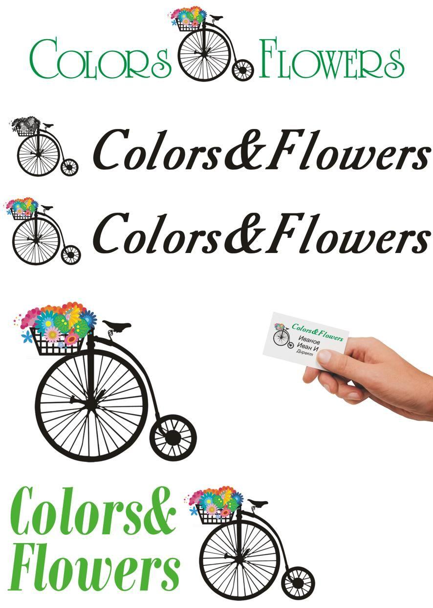 Colors & Flowers Логотип и фирменный стиль - дизайнер annare