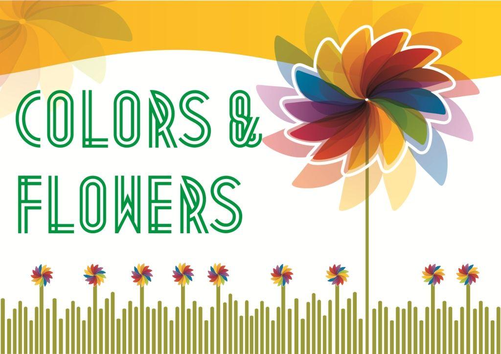 Colors & Flowers Логотип и фирменный стиль - дизайнер Antonska