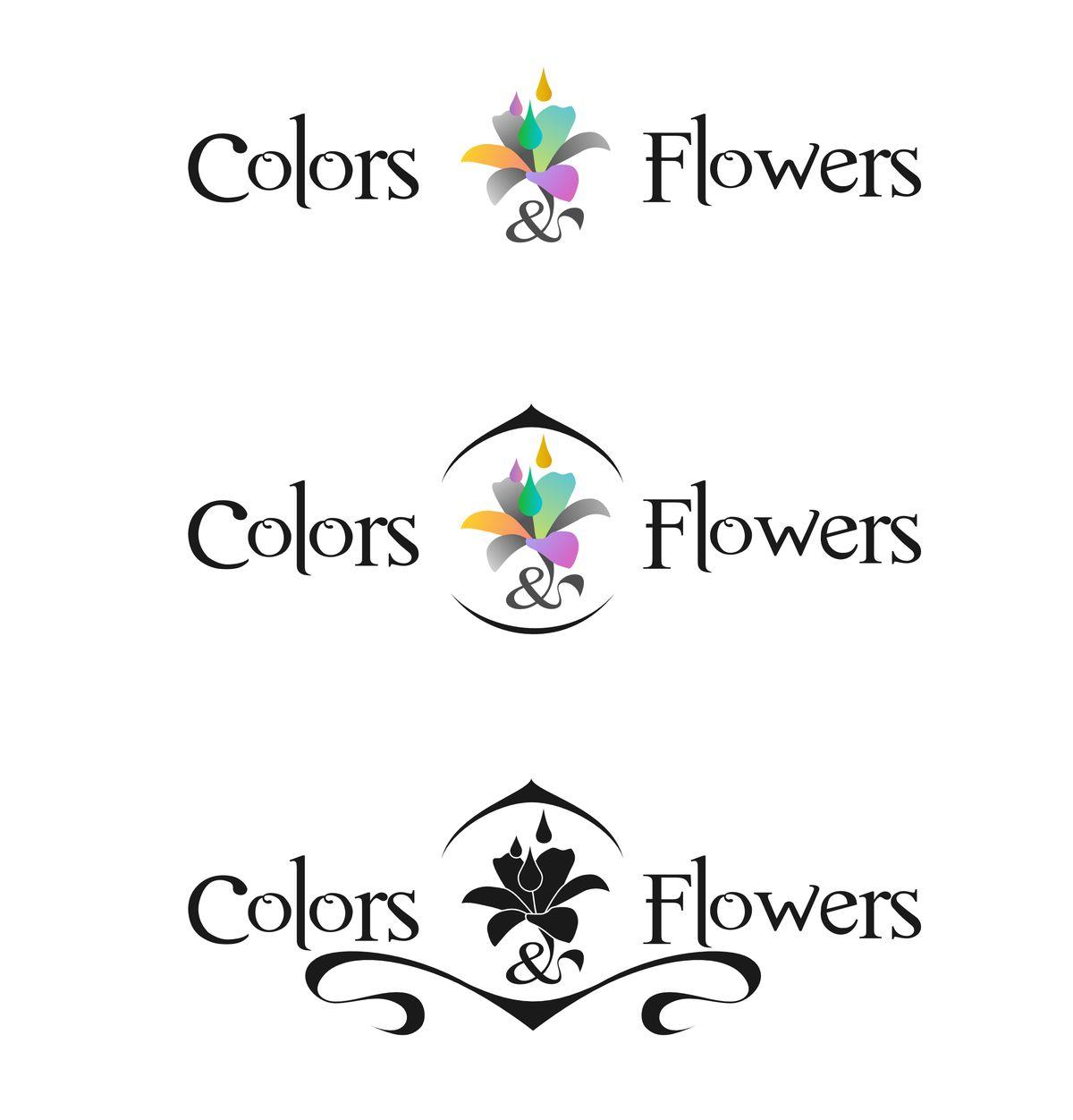 Colors & Flowers Логотип и фирменный стиль - дизайнер virtjob