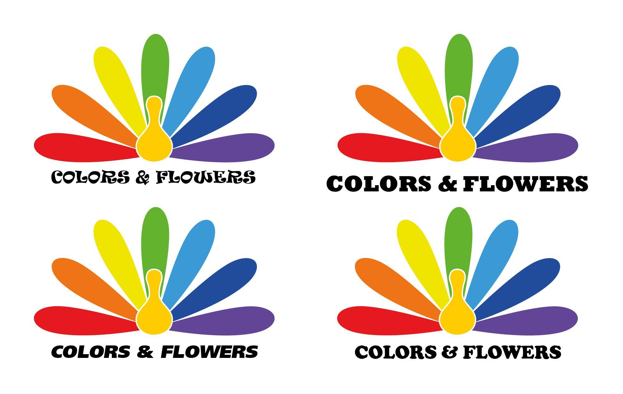 Colors & Flowers Логотип и фирменный стиль - дизайнер tourtle
