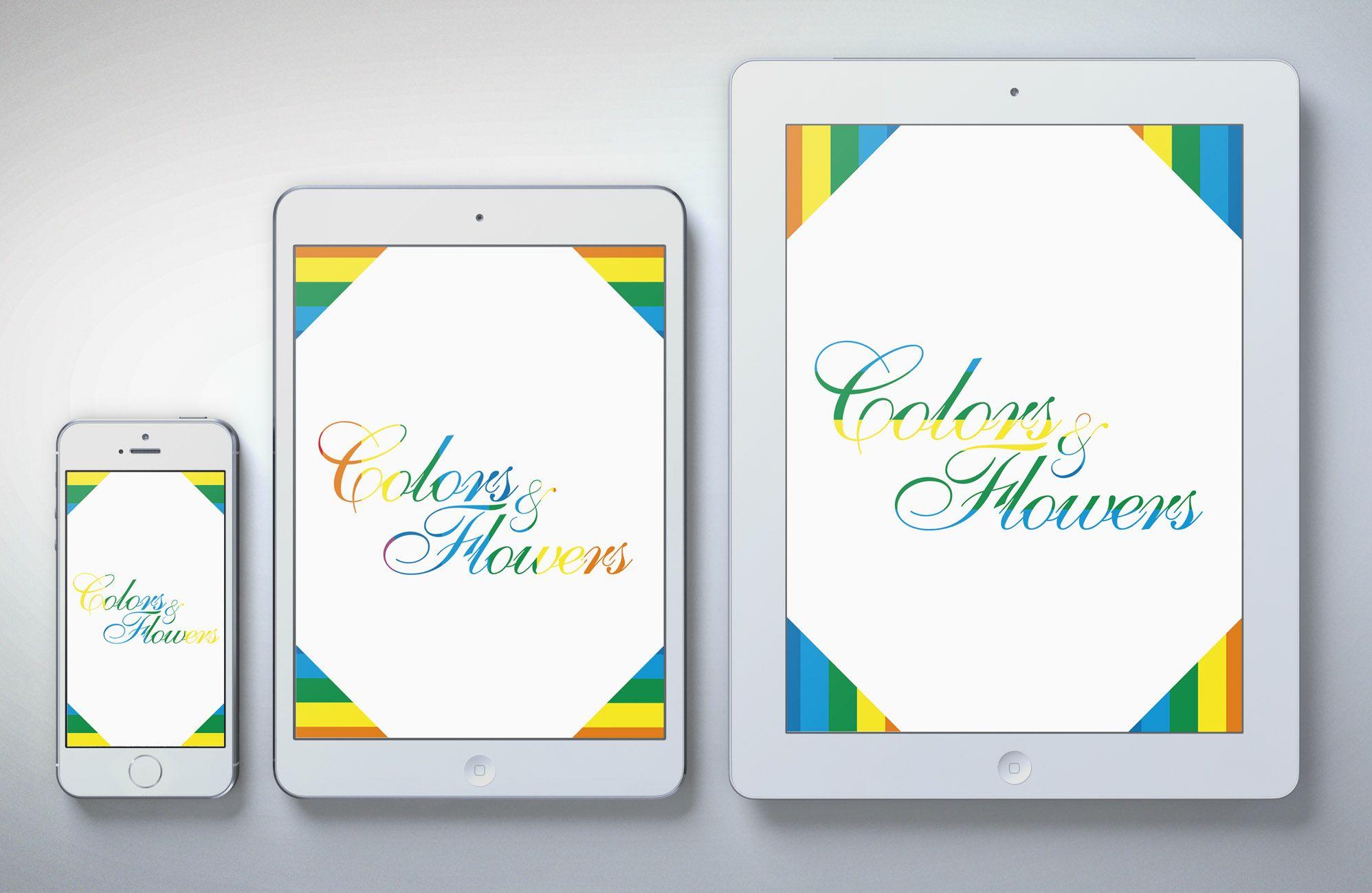 Colors & Flowers Логотип и фирменный стиль - дизайнер toster108
