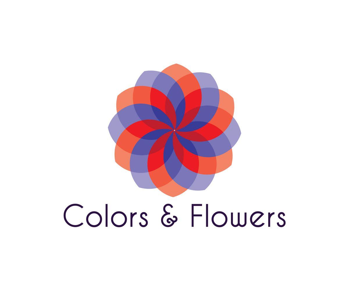 Colors & Flowers Логотип и фирменный стиль - дизайнер ssv01