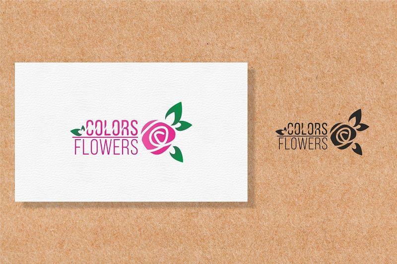 Colors & Flowers Логотип и фирменный стиль - дизайнер camelyevans