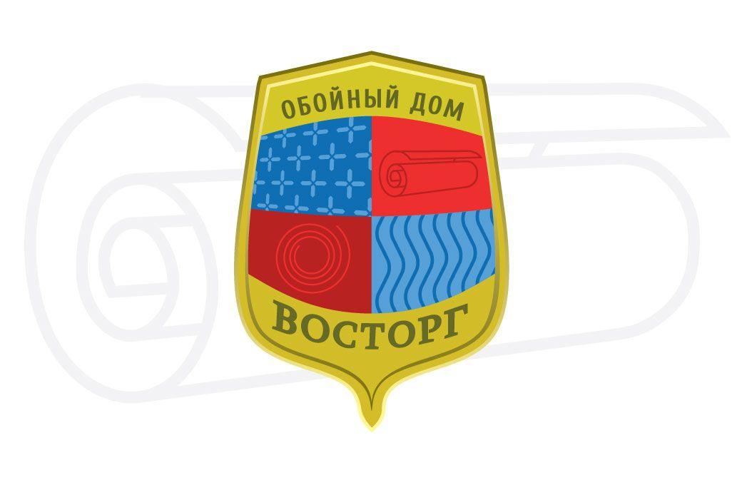 Логотип обойного дома - дизайнер azazello