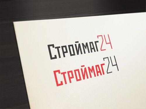 Лого и фирм стиль для Строймаг24 - дизайнер ready2flash