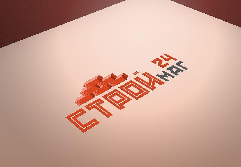 Лого и фирм стиль для Строймаг24 - дизайнер cruys