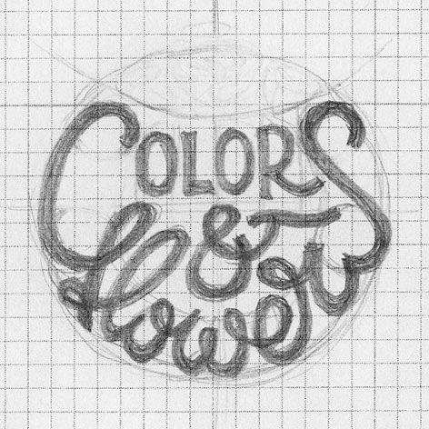 Colors & Flowers Логотип и фирменный стиль - дизайнер mihON