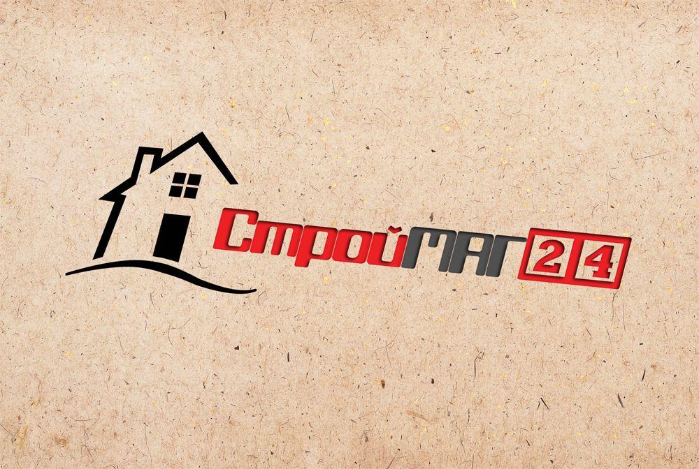Лого и фирм стиль для Строймаг24 - дизайнер disy