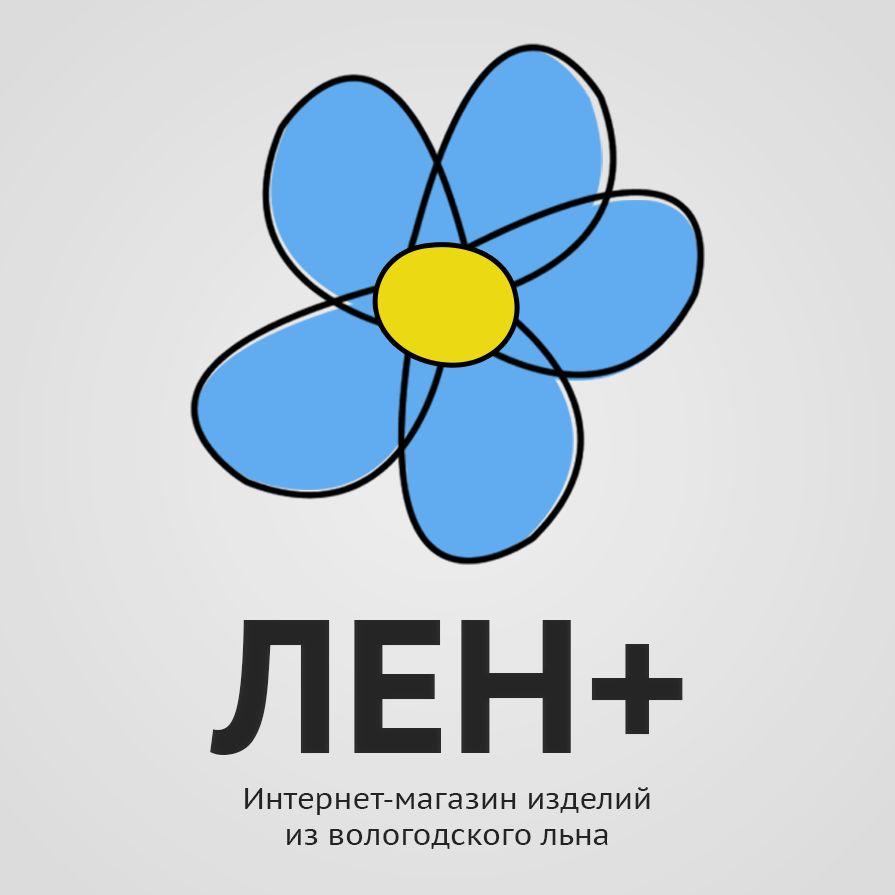 Логотип интернет-магазина ЛенПлюс - дизайнер KirillFomin