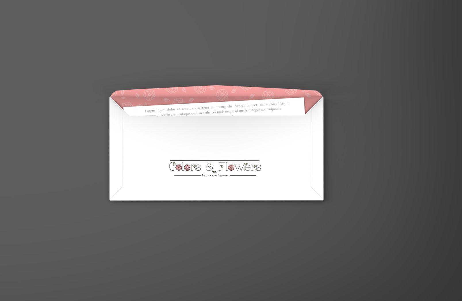 Colors & Flowers Логотип и фирменный стиль - дизайнер mugnolia_lia