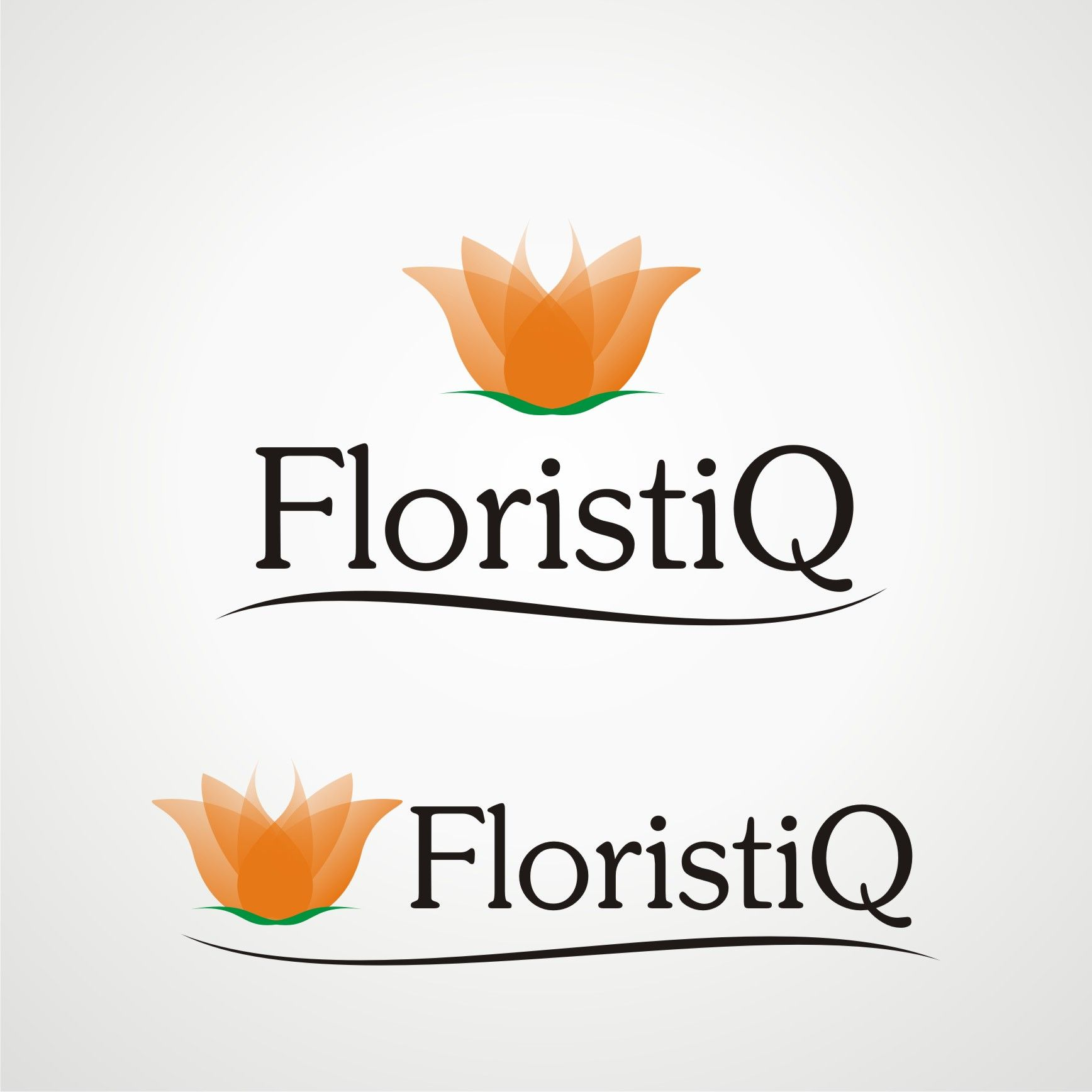 Логотип и фирм. стиль цветочного салона - дизайнер Tatiana