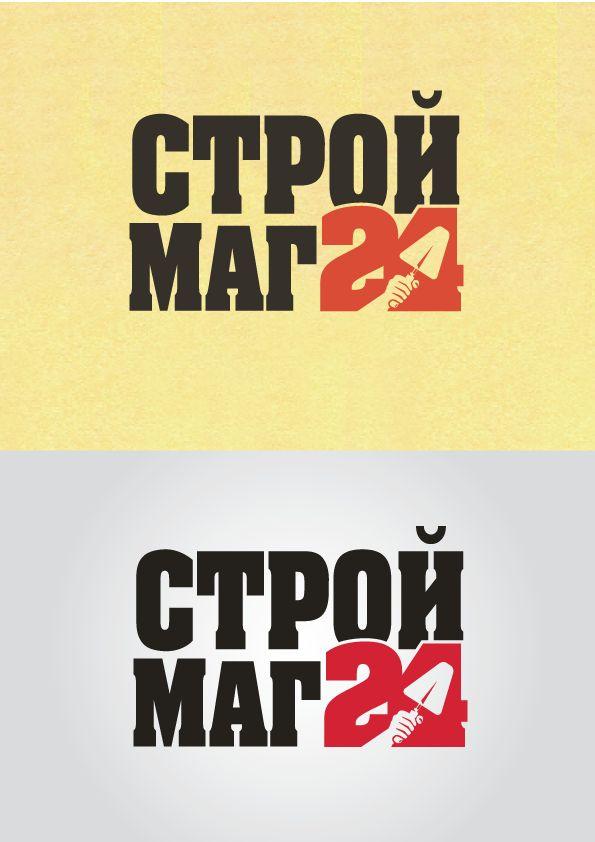 Лого и фирм стиль для Строймаг24 - дизайнер peps-65