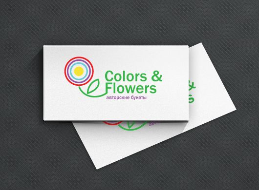 Colors & Flowers Логотип и фирменный стиль - дизайнер designeveryday1