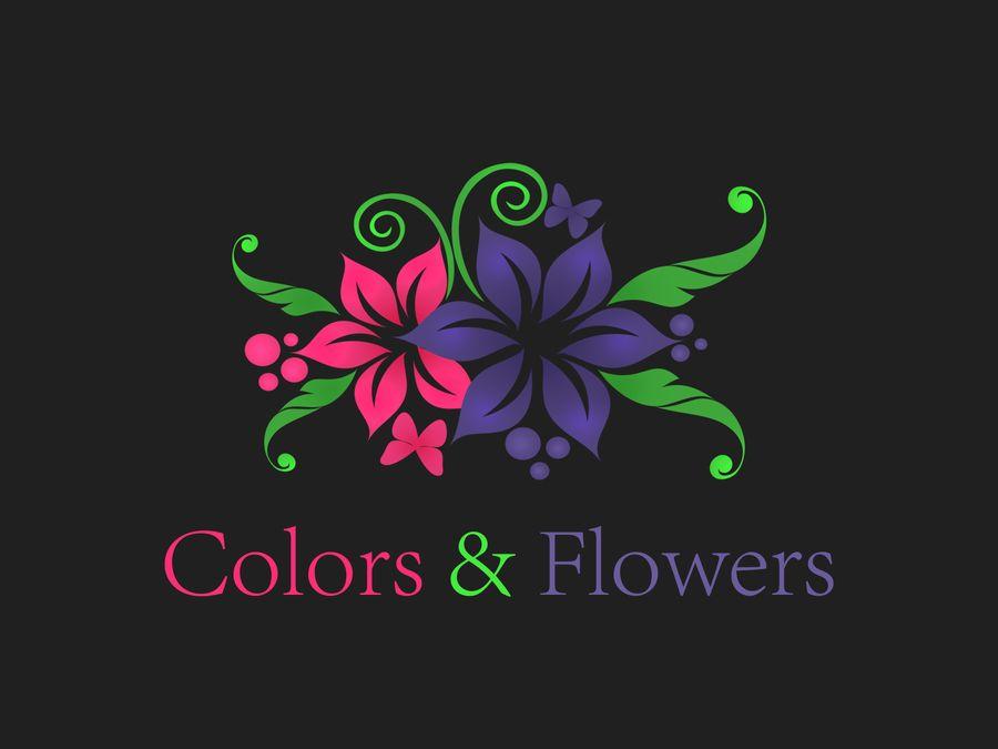 Colors & Flowers Логотип и фирменный стиль - дизайнер Une_fille