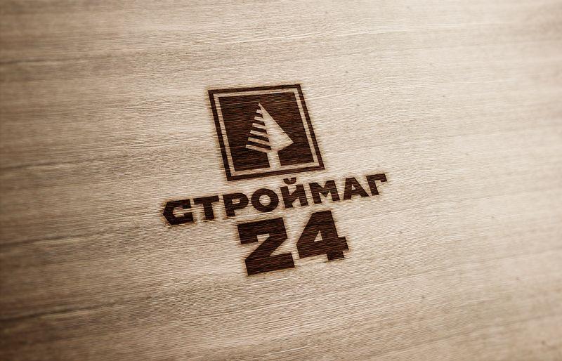 Лого и фирм стиль для Строймаг24 - дизайнер GRANDXX
