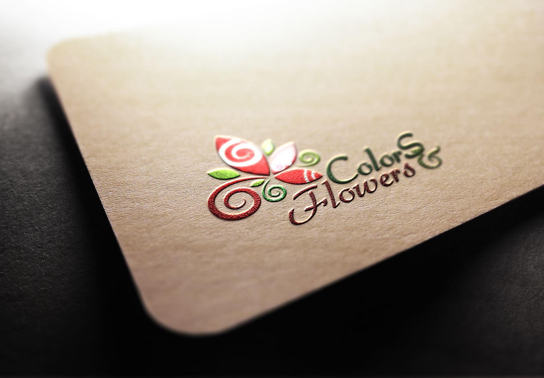 Colors & Flowers Логотип и фирменный стиль - дизайнер valeriana_88
