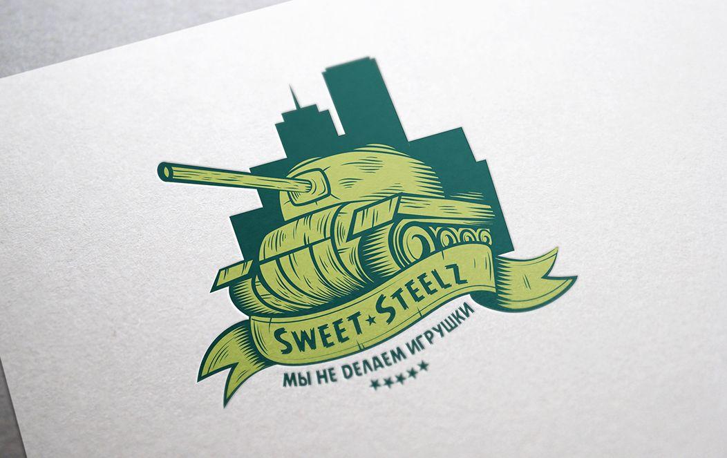 Лого и фирм. стиль для шоколадных военных моделей - дизайнер Denchique
