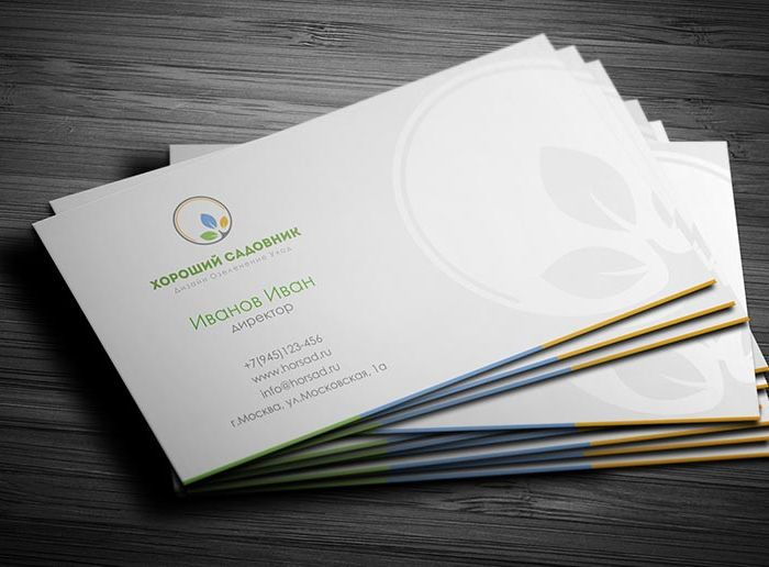 Фирменный стиль для компании по озеленению - дизайнер Zhe_ka