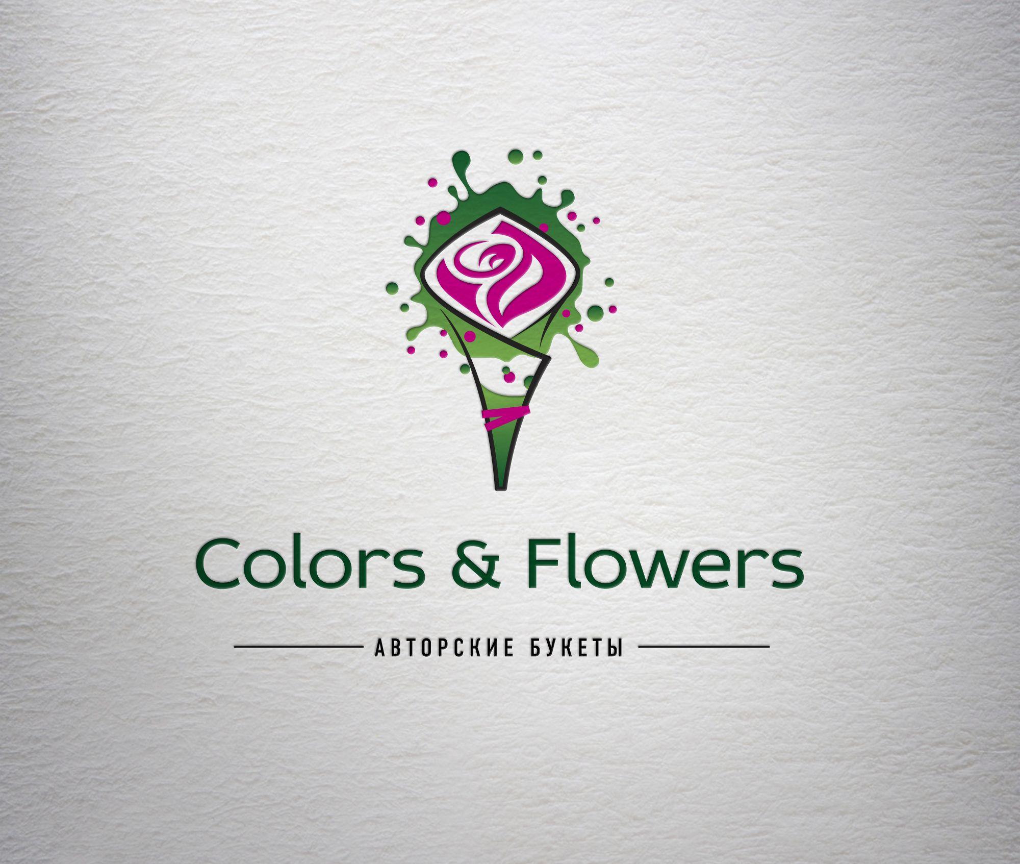 Colors & Flowers Логотип и фирменный стиль - дизайнер hotmart