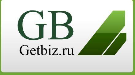 Логитип и презентация для сайта ГетБиз.ру - дизайнер alena26