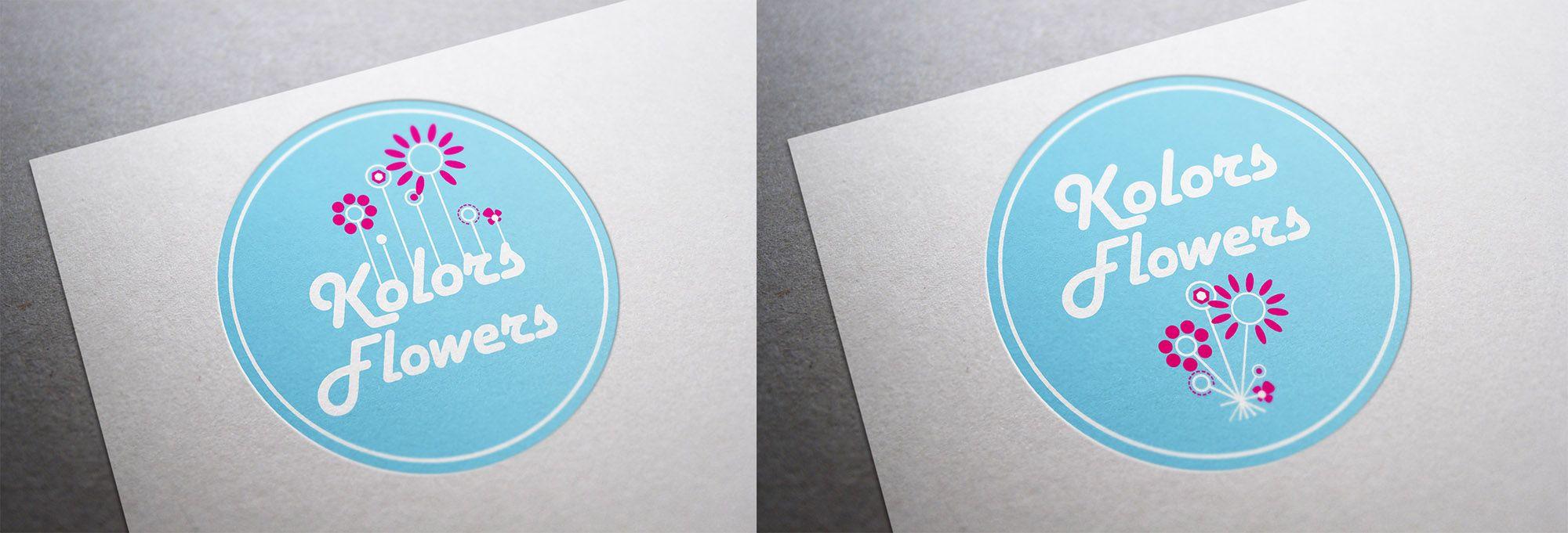 Colors & Flowers Логотип и фирменный стиль - дизайнер Vladlena_A