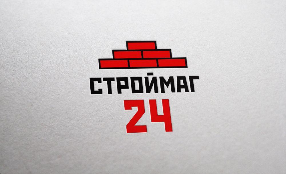 Лого и фирм стиль для Строймаг24 - дизайнер WD-ProTeam