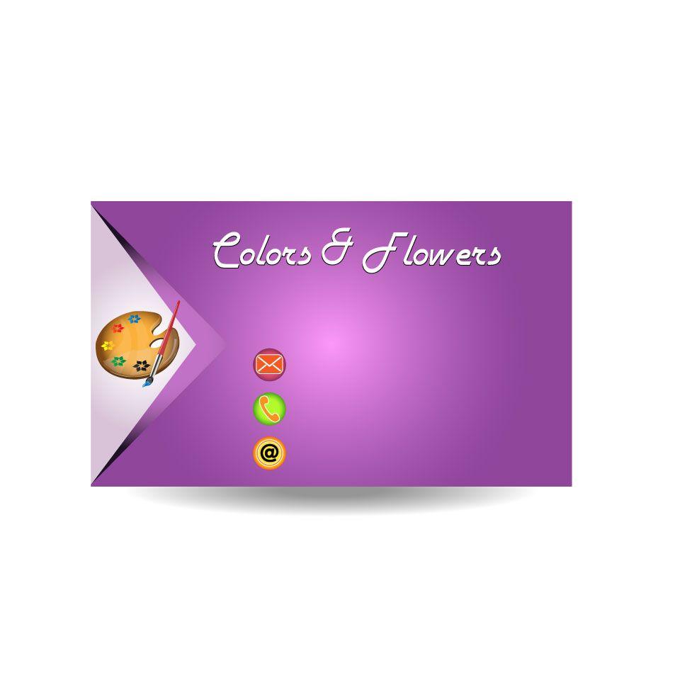 Colors & Flowers Логотип и фирменный стиль - дизайнер Gru3uH