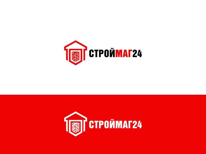 Лого и фирм стиль для Строймаг24 - дизайнер Olchytay