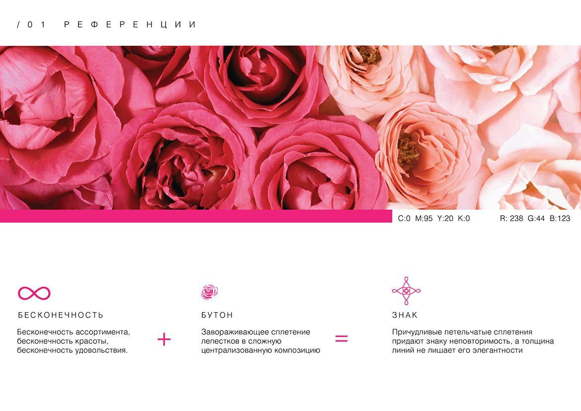 Логотип и фирм. стиль цветочного салона - дизайнер Mymyu
