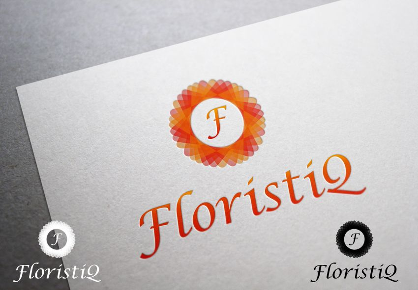 Логотип и фирм. стиль цветочного салона - дизайнер LLight