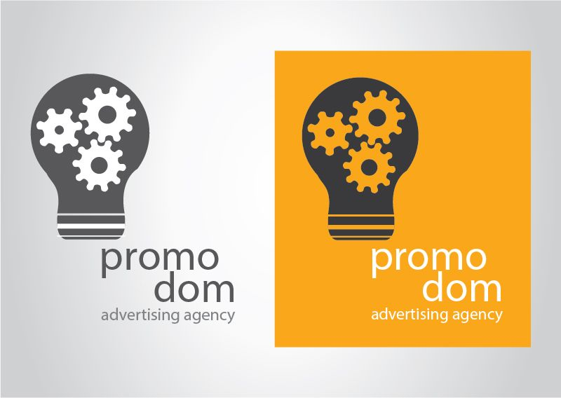 Логотип рекламного агентства - дизайнер rosewind