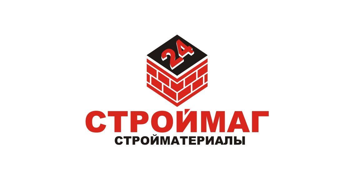Лого и фирм стиль для Строймаг24 - дизайнер LiXoOnshade