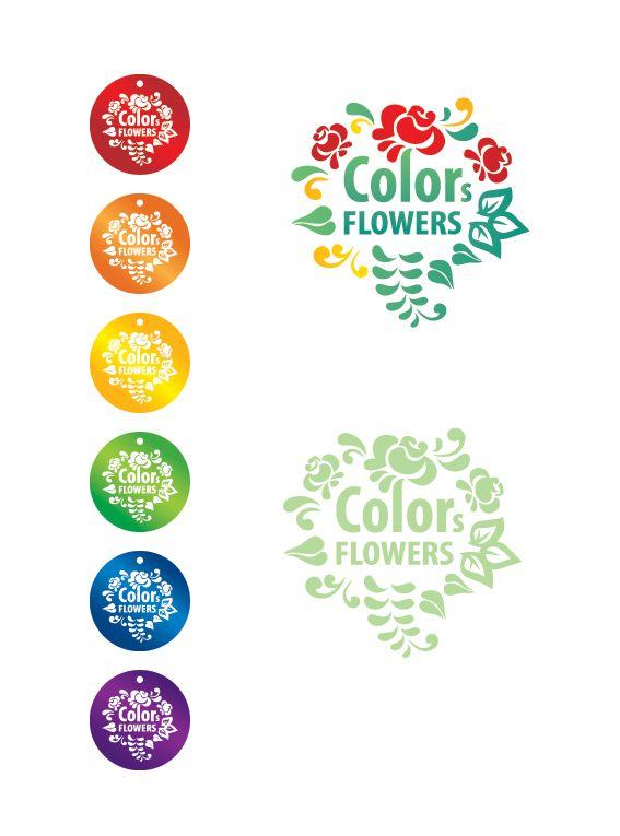 Colors & Flowers Логотип и фирменный стиль - дизайнер Ya_designer_