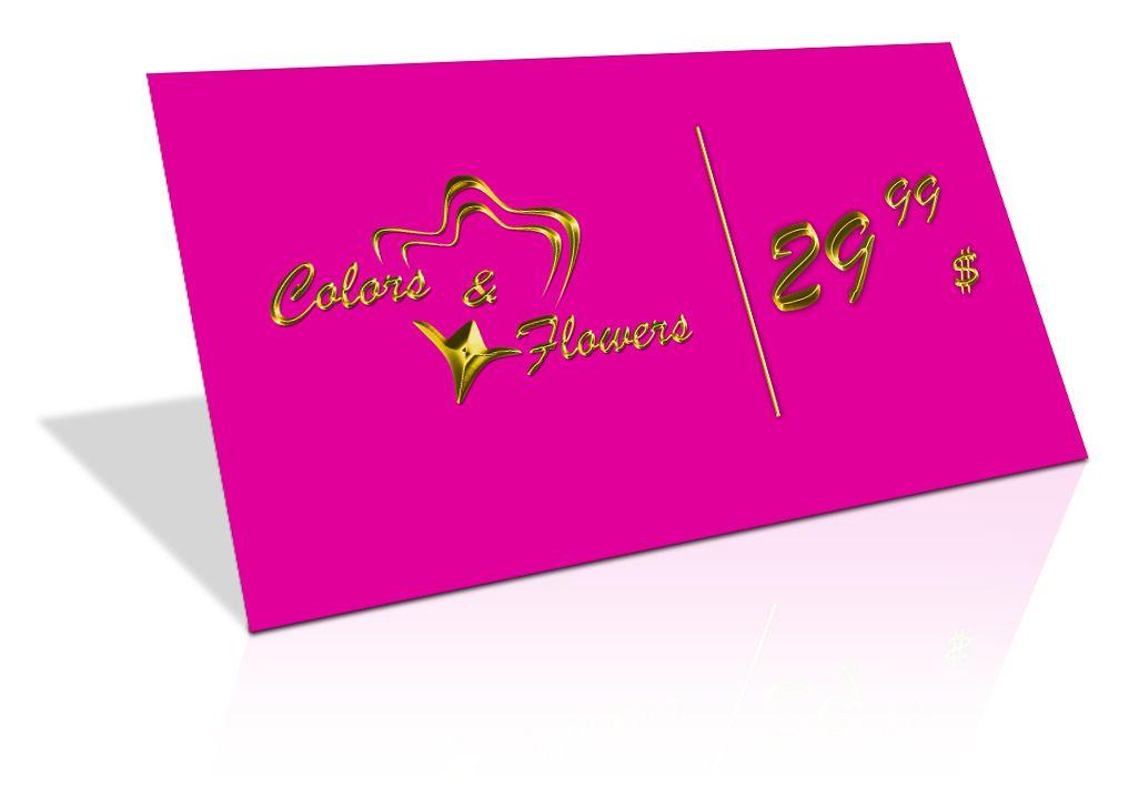 Colors & Flowers Логотип и фирменный стиль - дизайнер alex-blek