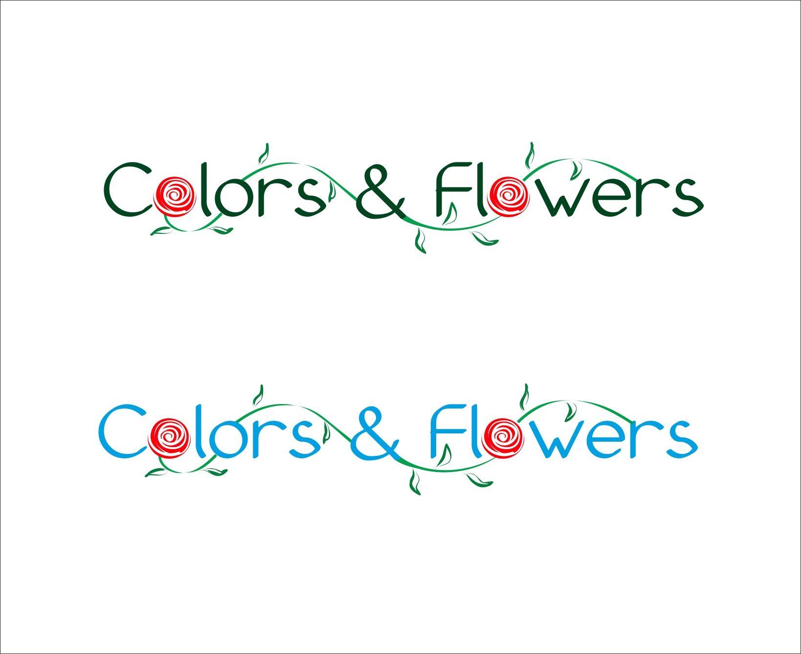 Colors & Flowers Логотип и фирменный стиль - дизайнер oksana123456