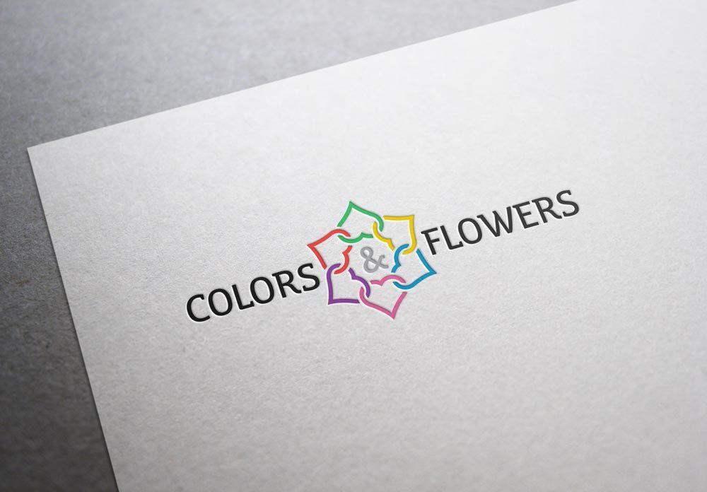 Colors & Flowers Логотип и фирменный стиль - дизайнер tutcode